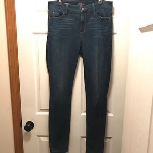 NYDJ Ami Skinny Legging Jeans Blue Size 12